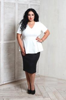 Блуза 066701 ЛаТэ (Белый)