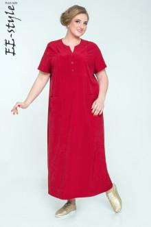 """Платье """"Её-стиль"""" 2031 ЕЁ-стиль (Бордо)"""